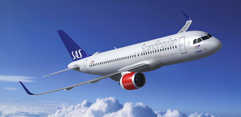 Scandinavien Airlines (SAS) - my favorite