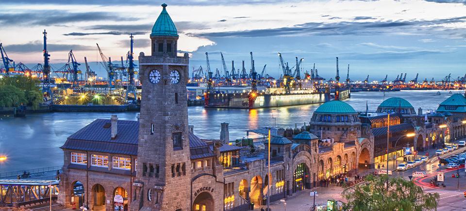 41 hours in Hamburg