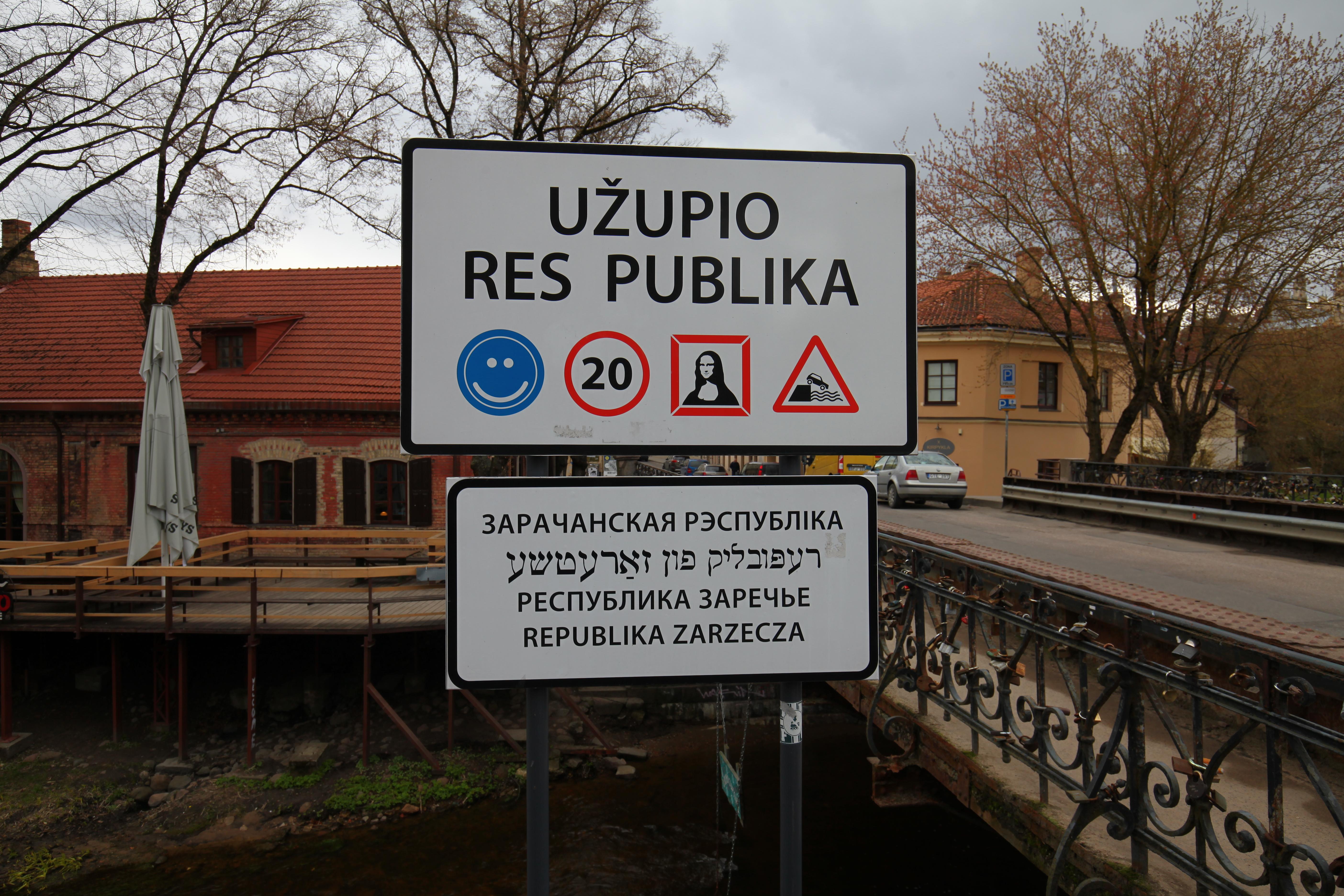Free thinking artists in Vilnius