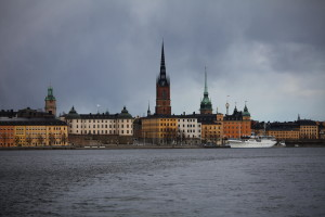 View on Riddarholmen