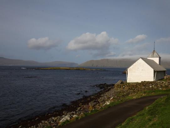 View on Kirkjubøur church