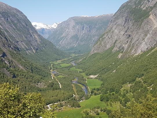 View over Eikesdalen