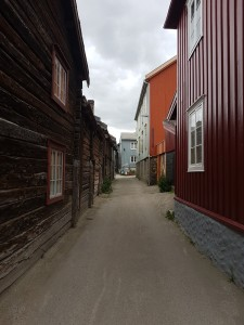 Wooden houses in Røros