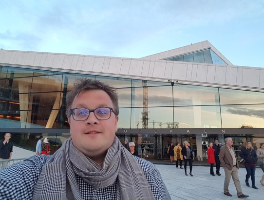 Opera and geocaching in Oslo