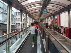 The Midt Level escalators