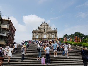 Ruins of the St Paul's church in Macau
