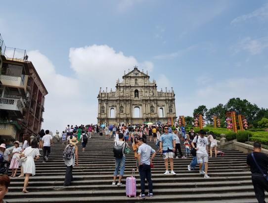 Hong Kong - Day 3 - Macau - Sightseeing and geocaching