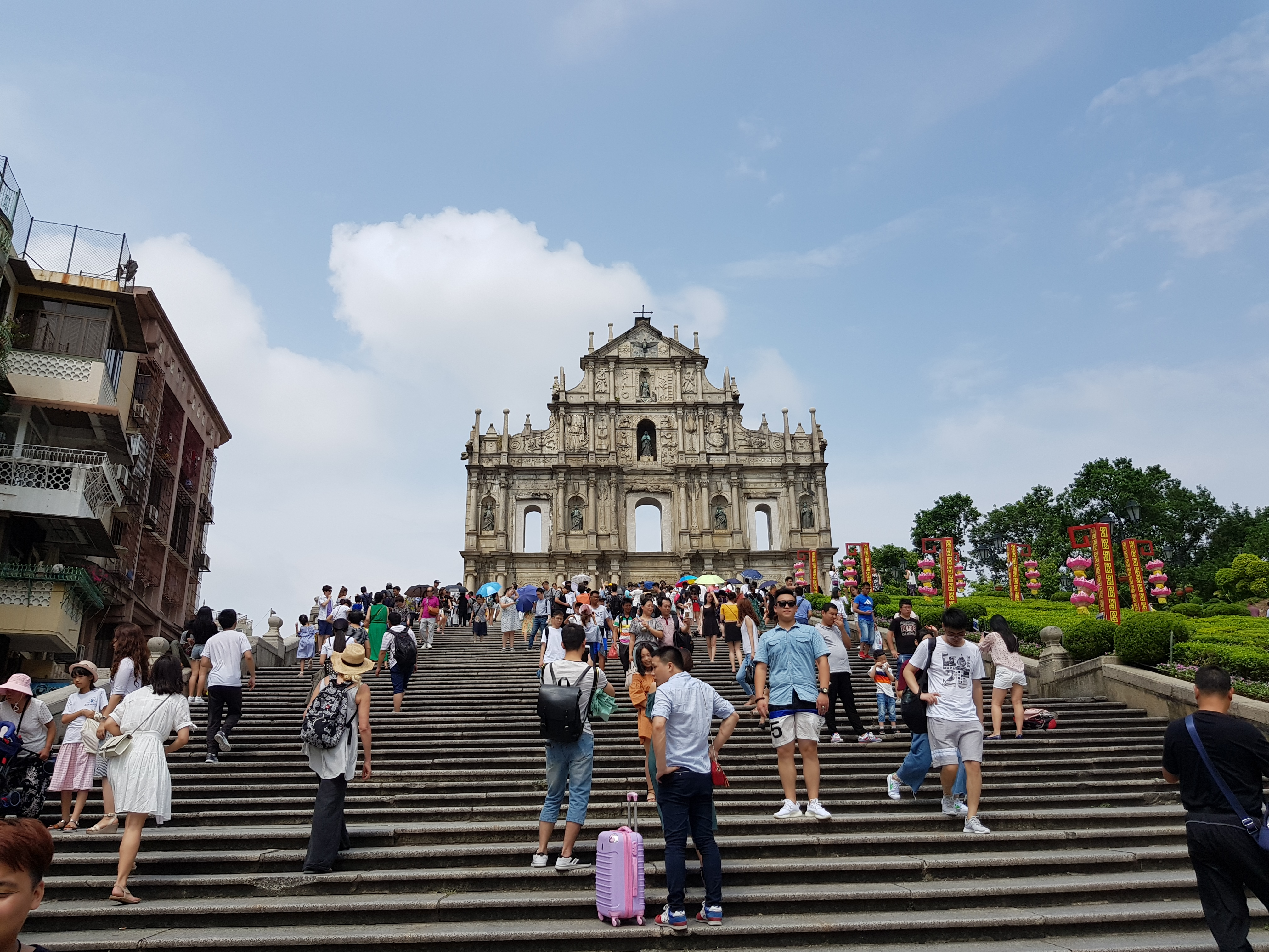 Ruins of the St Paul's church in Macau