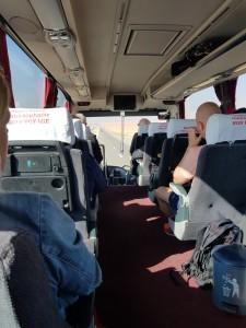The comfort line bus to Essaouira