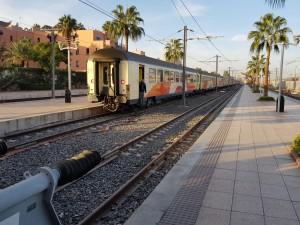 Marrakesh Station - My train arrives