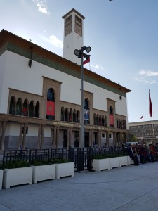 Casablanca city hall - highly secured. Search for a cache here...