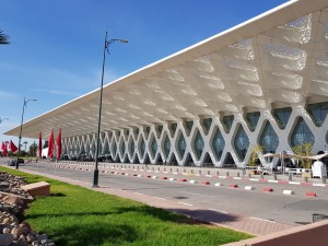 Marrakesh Airport - Departure