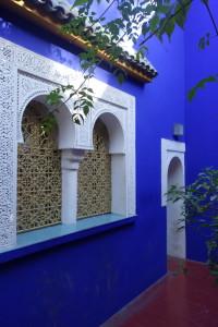 Jardin Majorelle - Blue house
