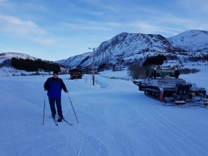 Just to have the evidence, that I was on ski... :)