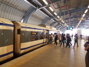 The Airport Link Train