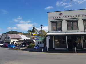 The may crossroad in Coromandel town