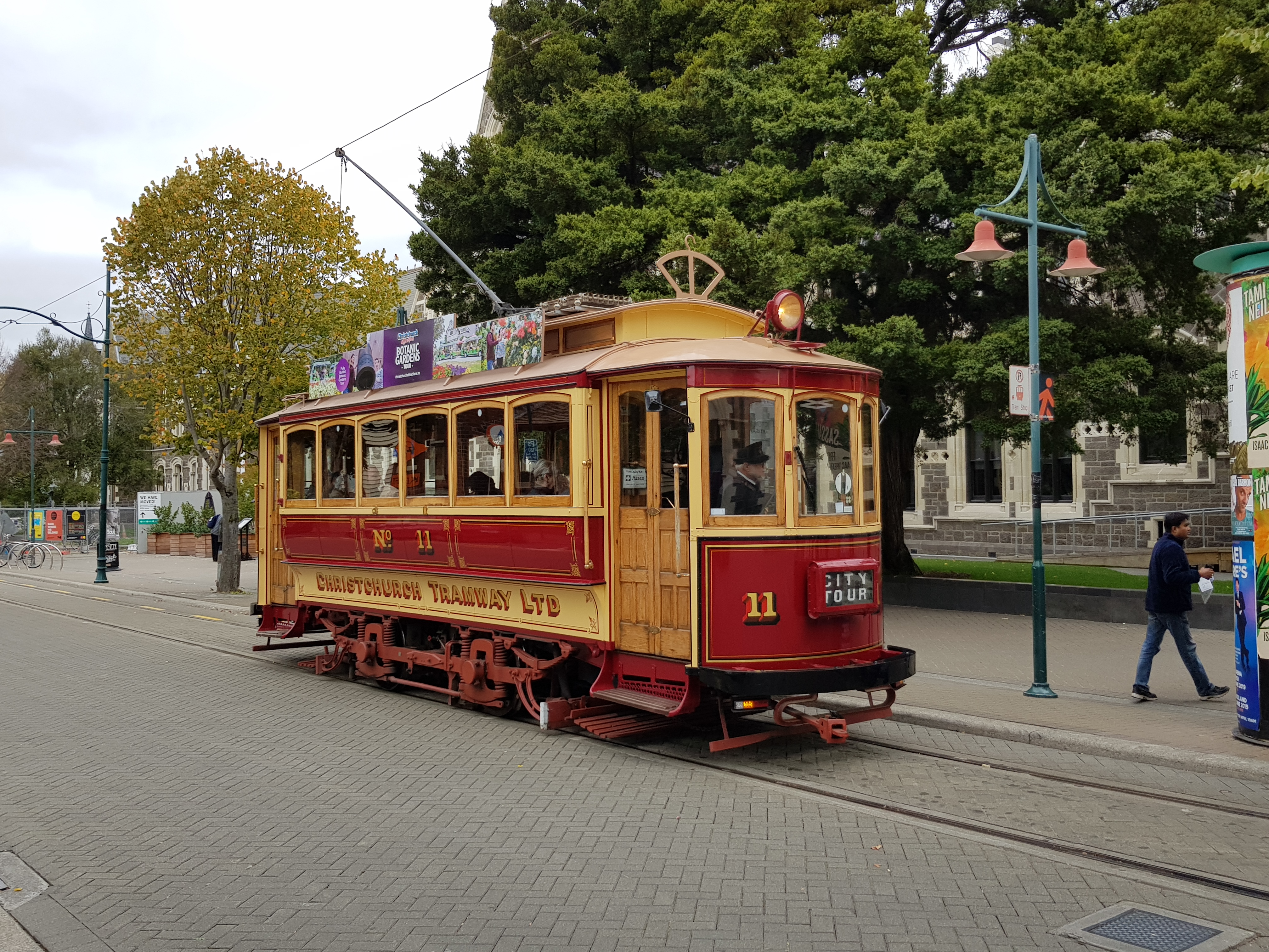 Christchurch historic tram