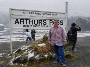 Arthurs pass - the tourist picture :)