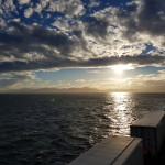 Scenic view from the ferry