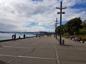 Harbor promenade