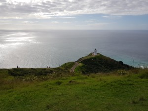 Cape Reinga and lighthouse