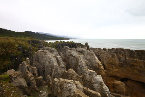 At pancake rocks