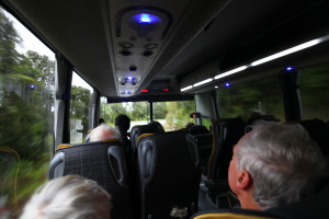 Our late bus to Nelson