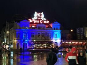 NIght time in Bergen