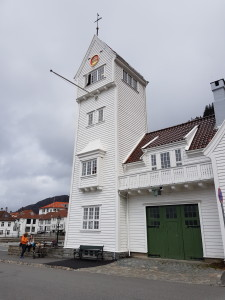 The old Skansen firehouse