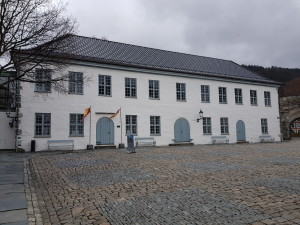 At Bergenshus fortress