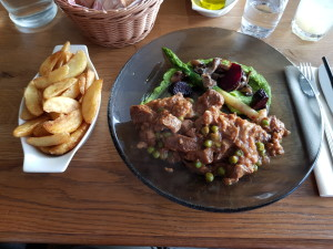Great food - veal is one of the finest meats