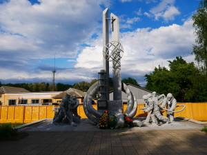 Monument to the Chernobyl Liquidators