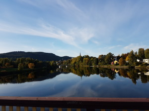 From an earlier trip to Trondheim. (Nidelva)