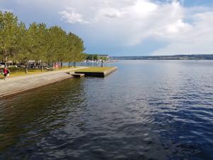 Badhusparken at Storsjöen in Östersund