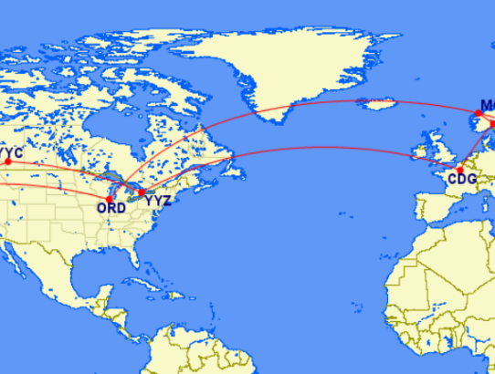 Holidays 2019 - 21.800 km in the air