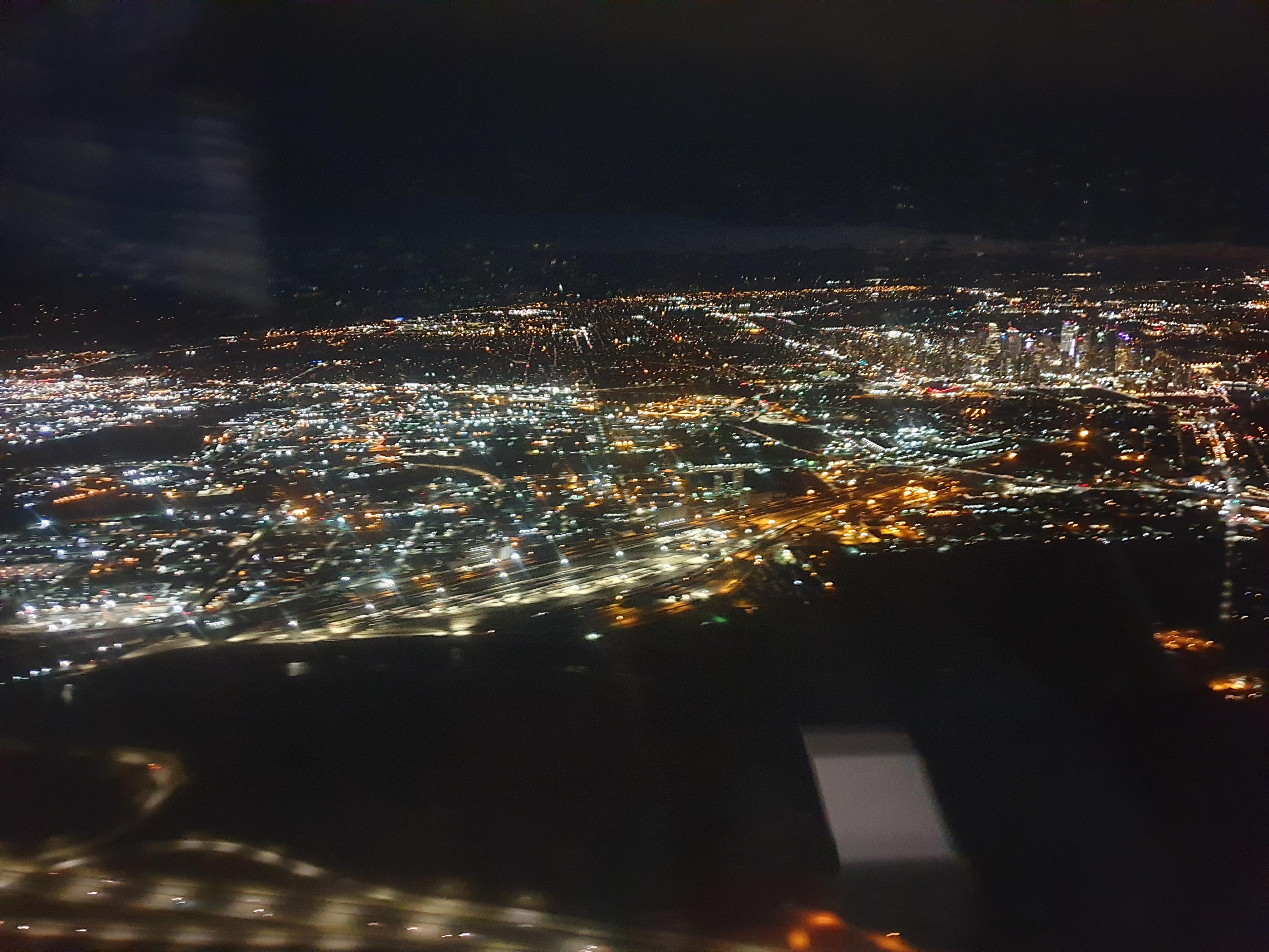 Approaching Calgary