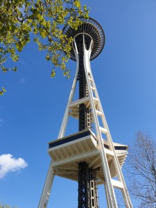 The iconic Space Needle