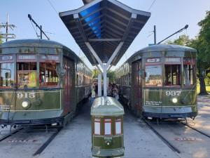 Final streetcar stop