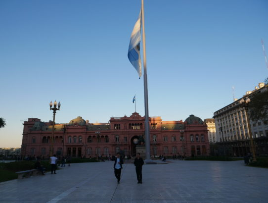Buenos Aires - Day 2 - Arriving and walking