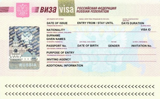 Getting a visa for Russia