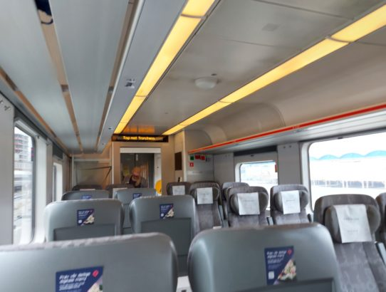 Train ride Bodø - Værnes (27.6.2021)